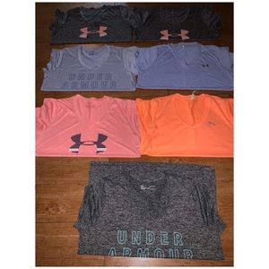 Women's under armour tees used